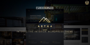 Artha v2.0 – Interactive Interior WordPress Theme