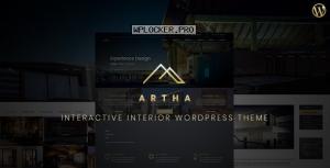 Artha v2.0 – Interactive Interior WordPress Theme