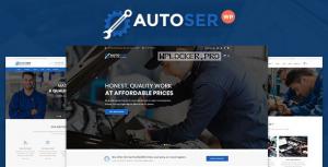 Autoser v1.0.9 – Car Repair and Auto Service Theme