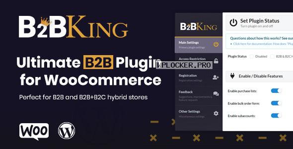 B2BKing v2.3.0 – The Ultimate WooCommerce B2B & Wholesale Plugin