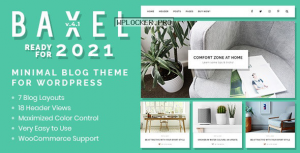 Baxel v4.1 – Minimal Blog Theme for WordPress
