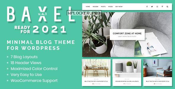 Baxel v4.1 – Minimal Blog Theme for WordPress