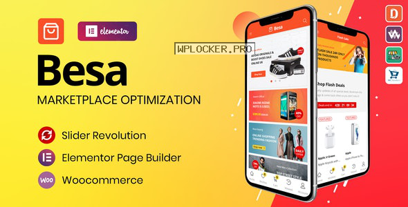 Besa v1.2 – Elementor Marketplace WooCommerce Theme