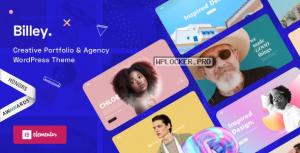 Billey v1.3.0 – Creative Portfolio & Agency WordPress Theme