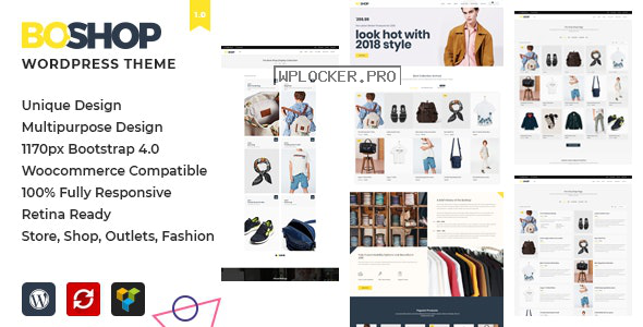 BoShop v1.0 – Multipurpose eCommerce WordPress Theme