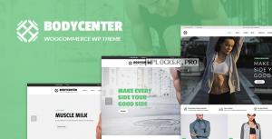 BodyCenter v1.7 – Gym, Fitness WooCommerce WordPress Theme