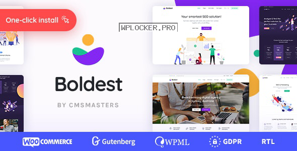 Boldest v1.0.1 – Consulting and Marketing Agency Theme