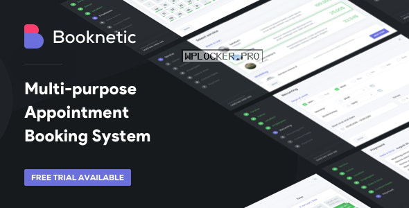 Booknetic v1.9.5 – WordPress Appointment Booking and Scheduling system