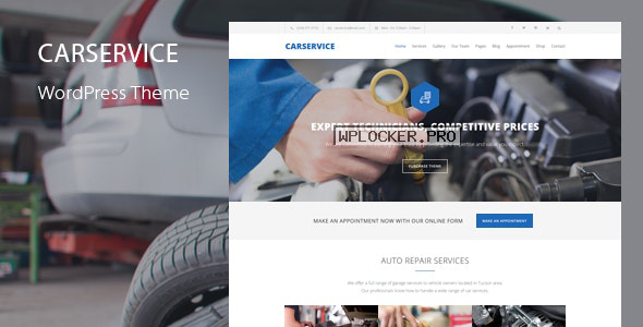 Car Service v5.9 – Mechanic Auto Shop WordPress Theme