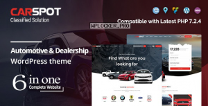 CarSpot v2.2.8 – Automotive Car Dealer WordPress Classified Theme
