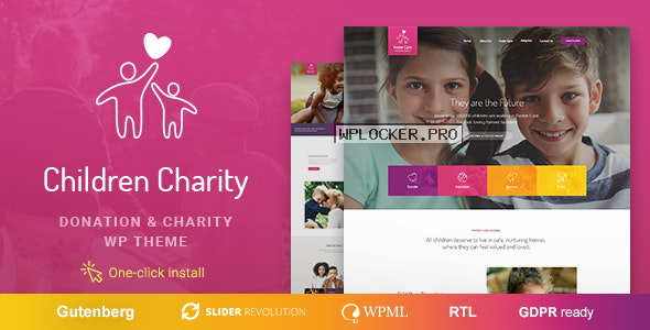 Children Charity v1.1.1 – Nonprofit & NGO WordPress Theme with Donations