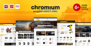 Chromium v1.3.14 – Auto Parts Shop WordPress Theme