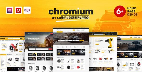 Chromium v1.3.14 – Auto Parts Shop WordPress Theme