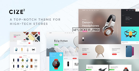 Cize v1.1.8 – A Top Notch Theme For High Tech Stores (RTL Supported)