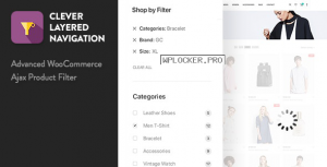 Clever Layered Navigation v1.4.0 – WooCommerce Ajax Product Filter