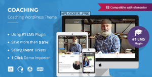 Colead v3.3.2 – Coaching & Online Courses WordPress Theme