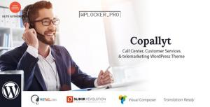 Copallyt v3.4 – Call Center & Telemarketing WordPress Theme