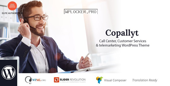 Copallyt v3.4 – Call Center & Telemarketing WordPress Theme