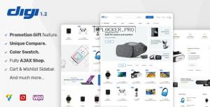 Digi v1.5.7 – Electronics Store WooCommerce Theme