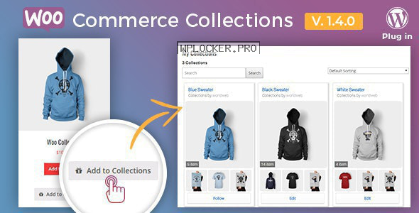 Docket v1.4.0 – WooCommerce Collections / Wishlist / Watchlist – WordPress Plugin