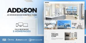 Download free Addison v1.2.8 – Architecture & Interior Design