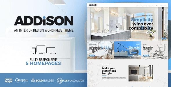 Download free Addison v1.2.8 – Architecture & Interior Design