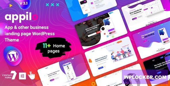 Download free Appilo v3.1.3 – App Landing Page