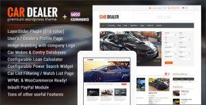 Download free Car Dealer v1.5.2 – Automotive Responsive WordPress Theme