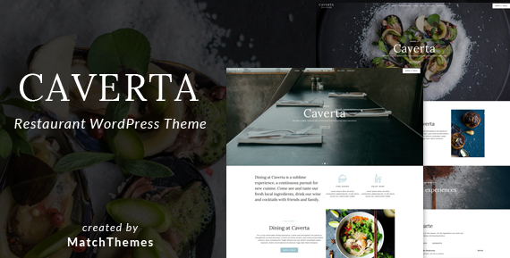 Download free Caverta v1.4.1 – Fine Dining Restaurant WordPress Theme