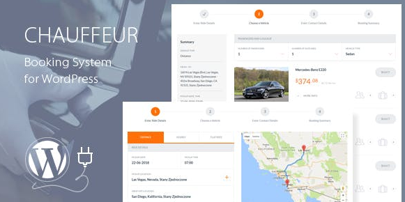 Download free Chauffeur Booking System for WordPress v5.3