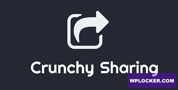 Download free Crunchy Sharing v3.3.0 – WordPress Fastest Social Sharing Plugin