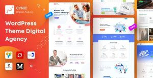 Download free Cynic v1.15 – Digital Agency WordPress Theme