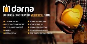 Download free Darna v1.2.5 – Building & Construction WordPress Theme