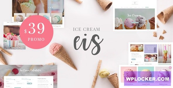 Download free Eis v1.1 – Ice Cream Shop WordPress Theme