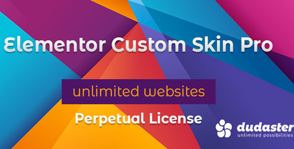 Download free Elementor Custom Skin Pro v3.0.0