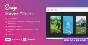 Download free Emage v4.3.0 – Image Hover Effects for Elementor