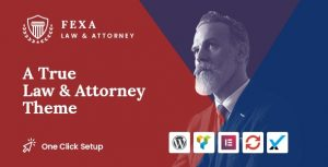 Download free Fexa v1.0.1 – Lawyer & Attorney WordPress Theme