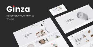 Download free Ginza v1.0.5 – Furniture Theme for WooCommerce WordPress