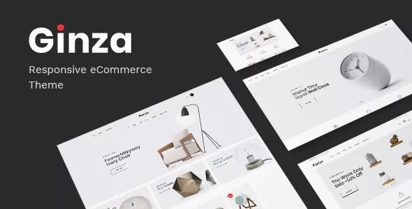 Download free Ginza v1.0.5 – Furniture Theme for WooCommerce WordPress
