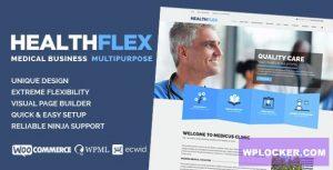 Download free HEALTHFLEX v1.6.7 – Medical Health WordPress Theme