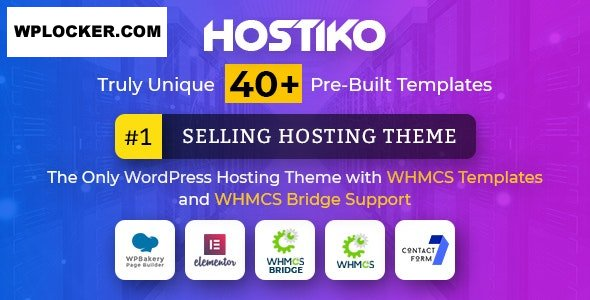 Download free Hostiko v47.0 – WordPress WHMCS Hosting Theme