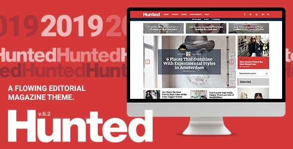Download free Hunted v7.1 – A Flowing Editorial Magazine Theme