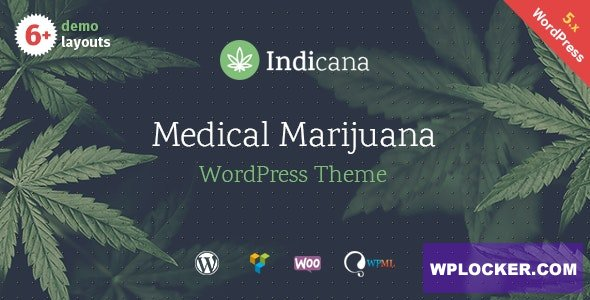 Download free Indicana v1.4.3 – Medical Marijuana Dispensary WordPress Theme