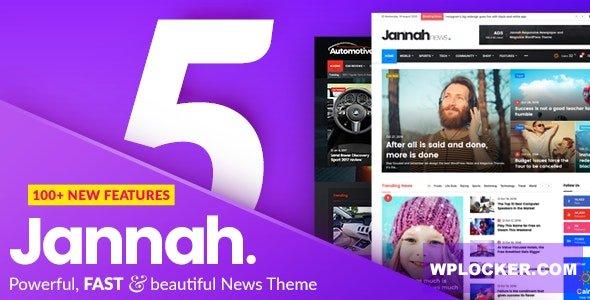 Download free Jannah News v5.0.3 – Newspaper Magazine News AMP BuddyPress