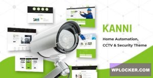 Download free Kanni v2.2 – Home Automation, CCTV Security Theme