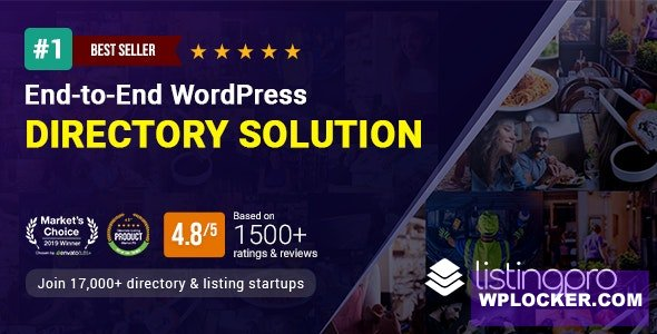 Download free ListingPro v2.5.11 – WordPress Directory Theme