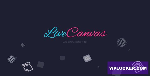 Download free LiveCanvas v1.6.0 – Pure HTML and CSS WordPress builder