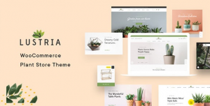 Download free Lustria v1.8 – MultiPurpose Plant Store WordPress Theme