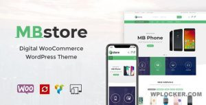 Download free MBStore v1.8 – Digital WooCommerce WordPress Theme