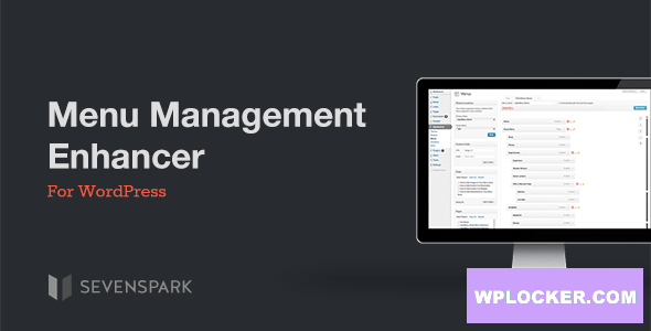 Download free Menu Management Enhancer for WordPress v1.2